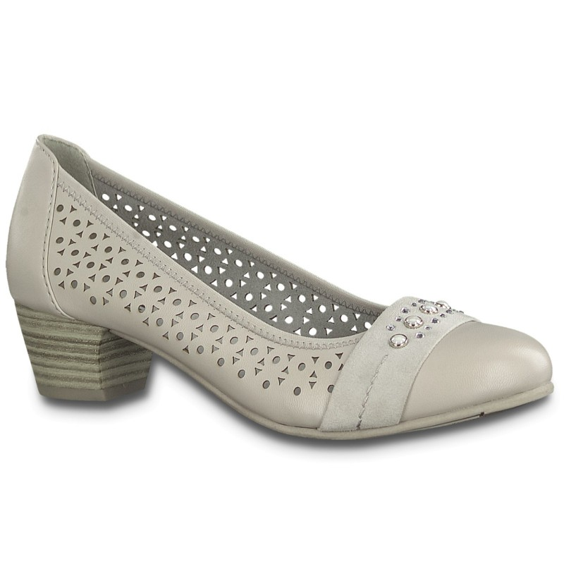 Jana Soft Line  női pumps 22362-22-204 lt.grey 04848