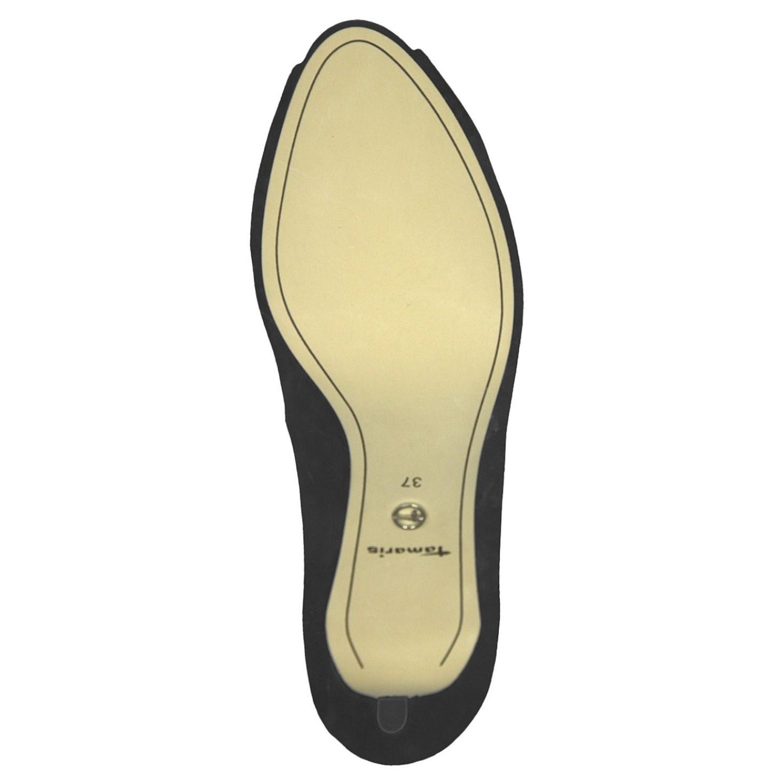 Tamaris női peep toe (nyitott orrú) szandálcipő 29302 22 001