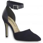 Tamaris női oldalt nyitott cipő 24419-22-890 black 04876 Női Tamaris
