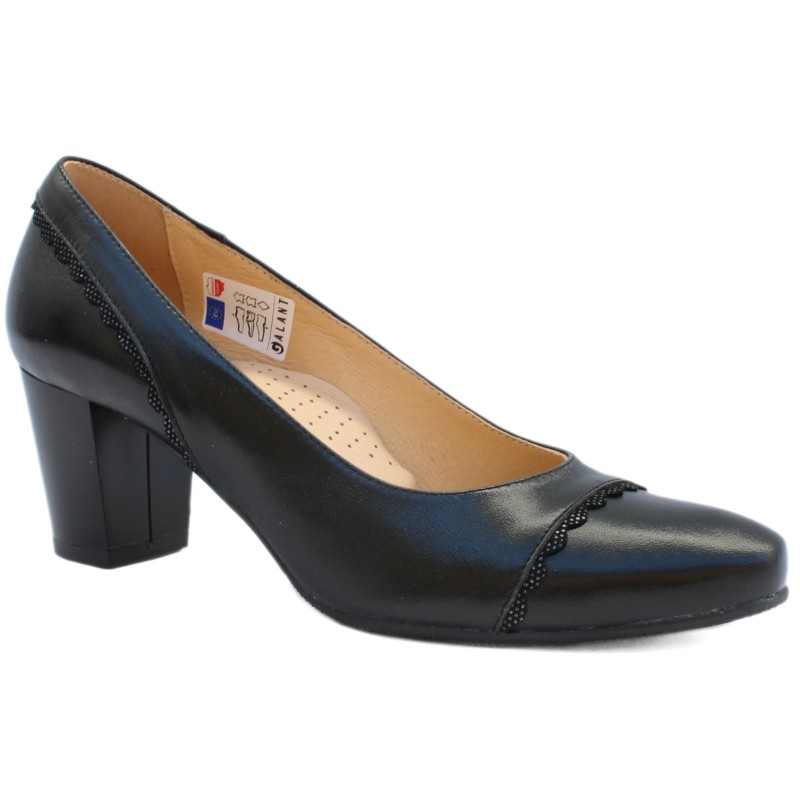 Galant női pumps 2724 fekete 05128