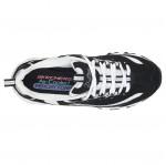 Skechers női fűzős sportcipő 11930-BKW D'Lites - Biggest Fan 05132