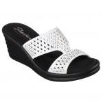 Skechers női telitalpú papucs 31778-WHT Rumbler Wave Ibiza Summer 05113 Női Skechers