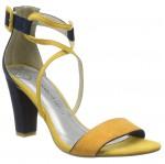 Marco Tozzi női szandál 28317-22-656 sárga-kék mix 04996 Női Marco Tozzi