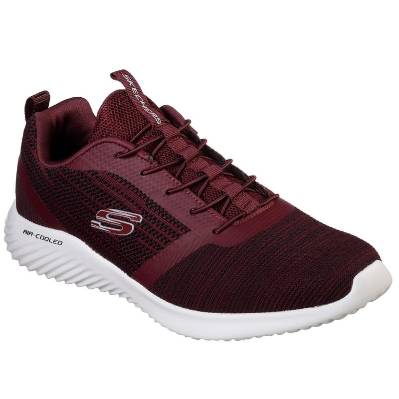 Skechers férfi bebújós sneaker félcipő 52504-BURG Bounder 051111