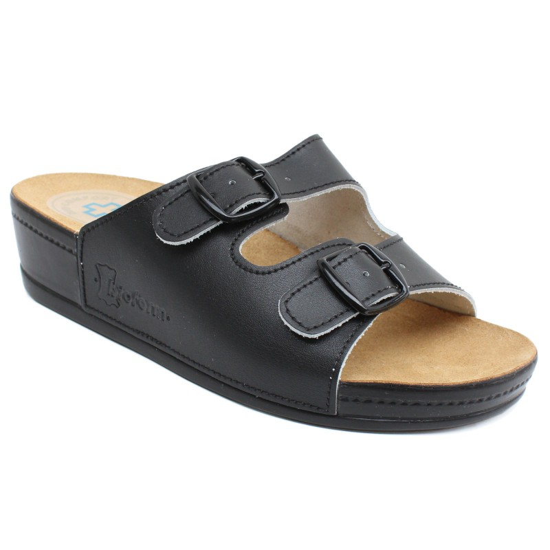 Sprinter Classic komfort női papucs 5163 fekete 02079