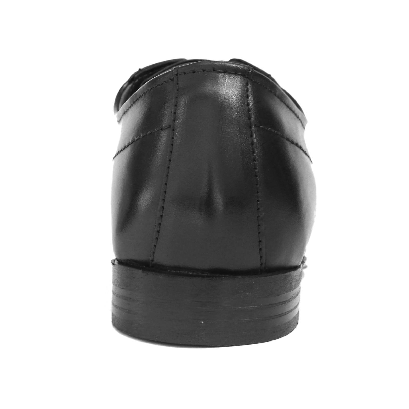 Bugatti Mattia férfi bőr félcipő fekete 311 66606 1000