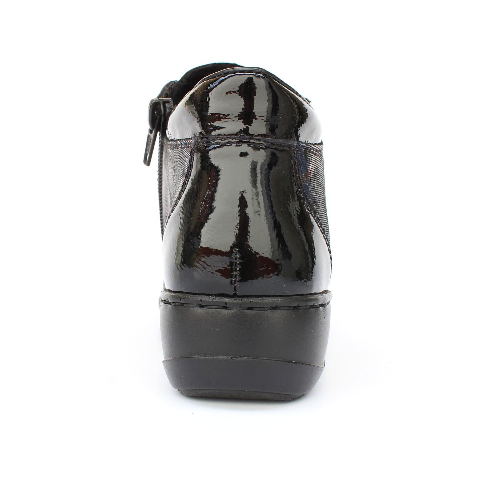 Rieker női bokacipő 58398 00 LuxorDune 05241 Női bokacipő