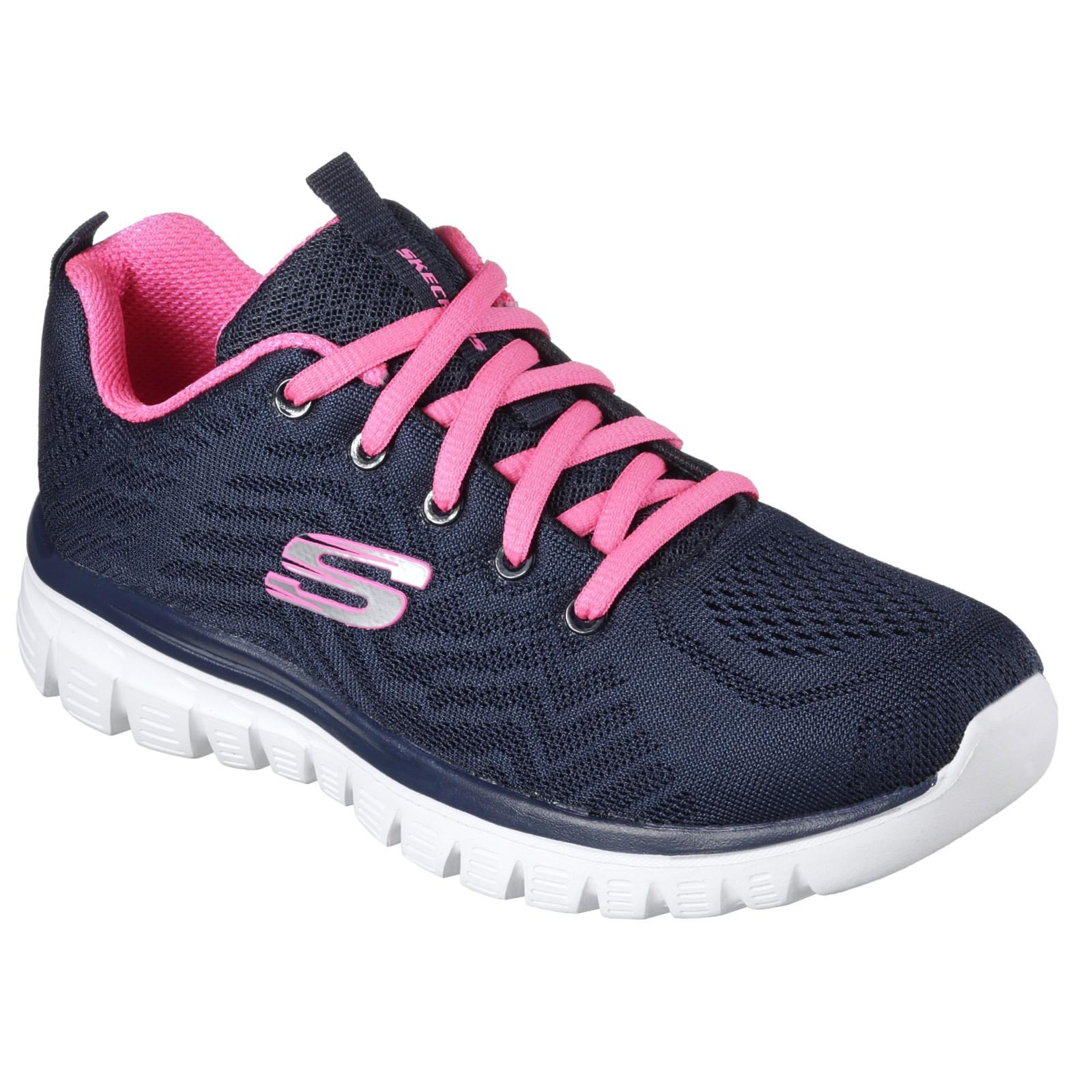 Skechers Graceful Get Connected női sportcipő 12615 NVHP