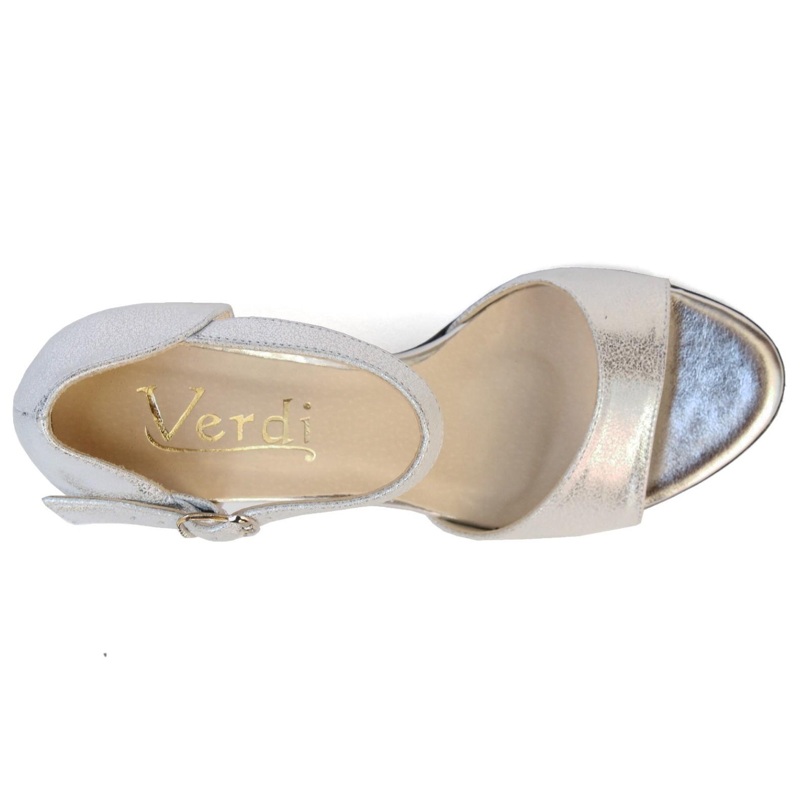 04135 Verdi női magas sarkú szandál V209 Női szandál