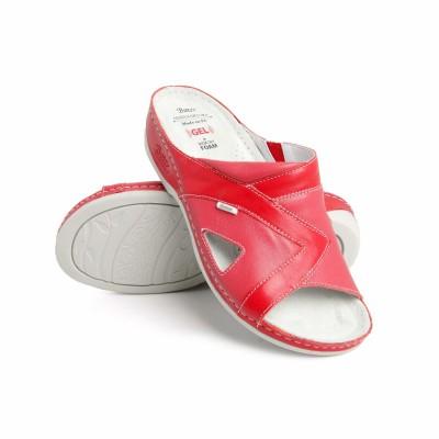 Batz Viki piros női papucs