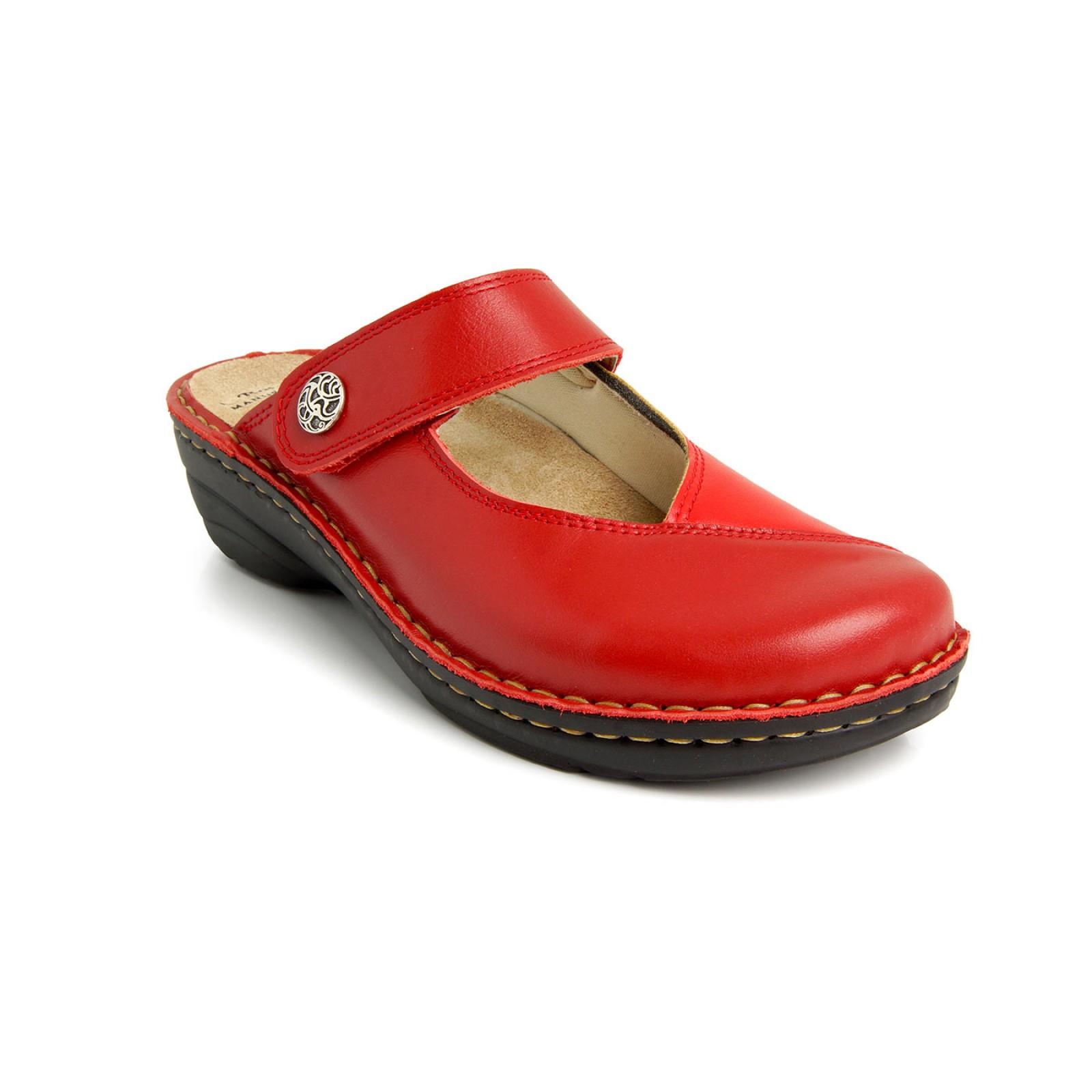175304c597 Batz Bali piros női klumpa - Női papucs
