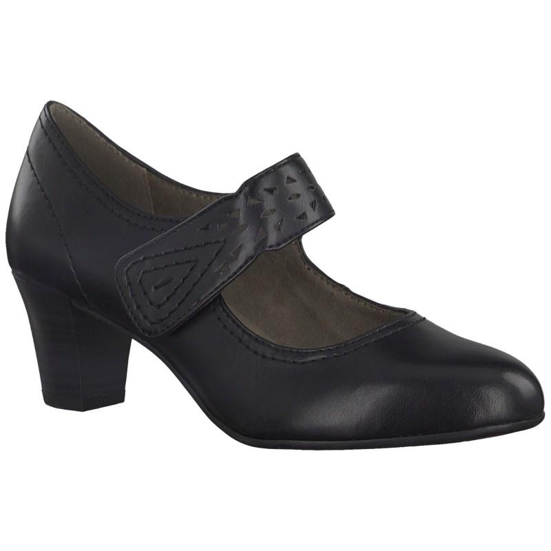 04384 Jana Soft Line női tépőzáras félcipő 24462-20-001