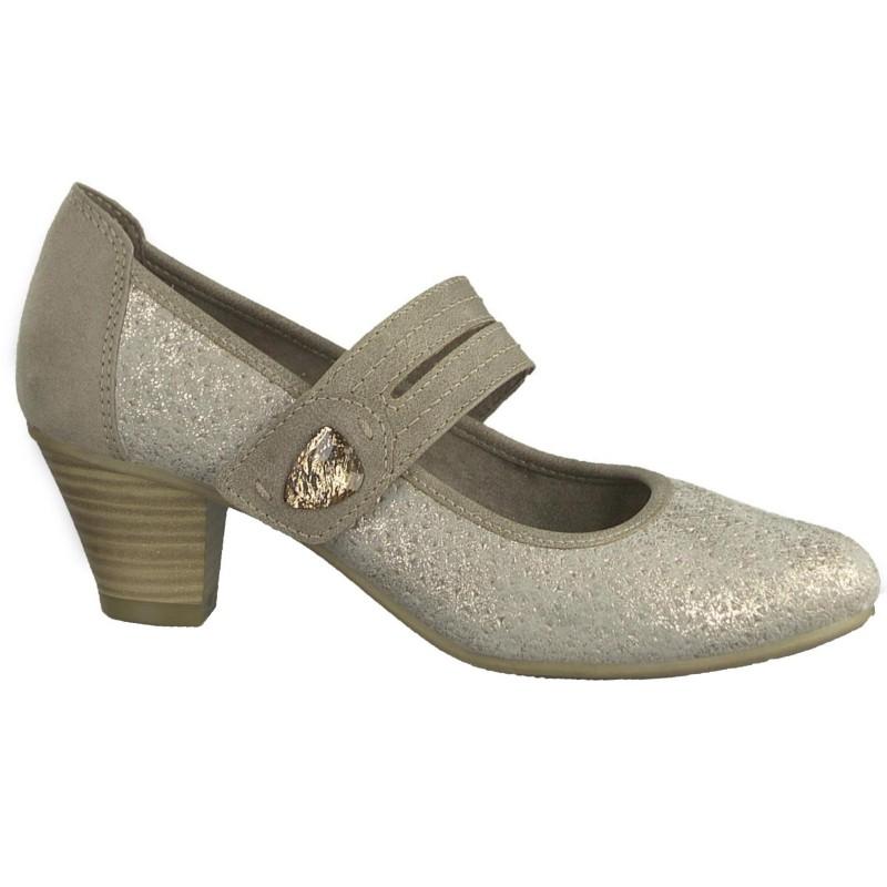 04363 Jana női tépőzáras félcipő 24332-20-350