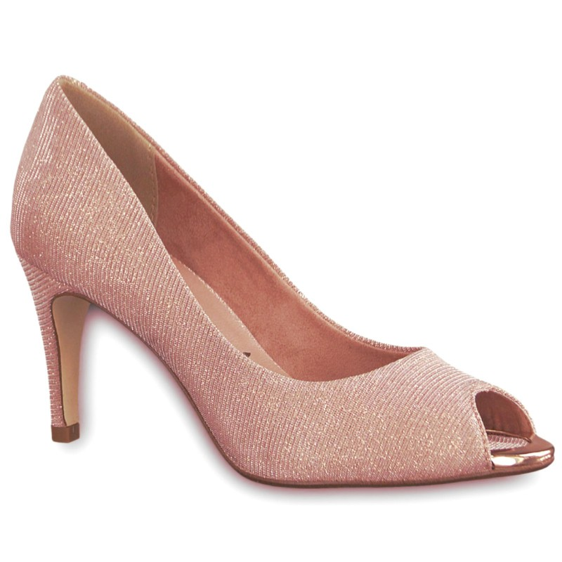 04356 Tamaris női peep toe (nyitott orrú) szandálcipő 29302-20-552