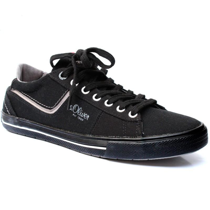 04392 S.Oliver férfi vászoncipő 13600-20-001