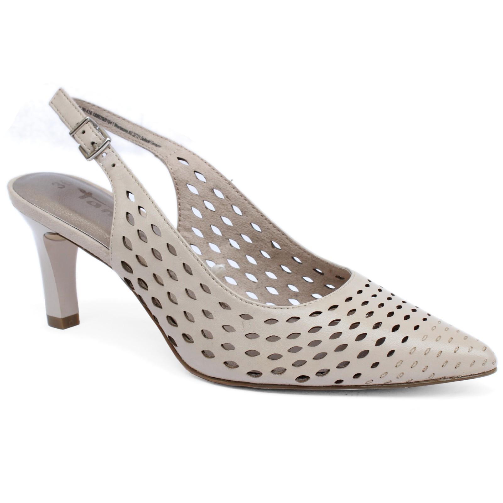 04361 Tamaris női szling 29606-20-418 - Női sling (hátul nyitott cipő) 5a8f925055
