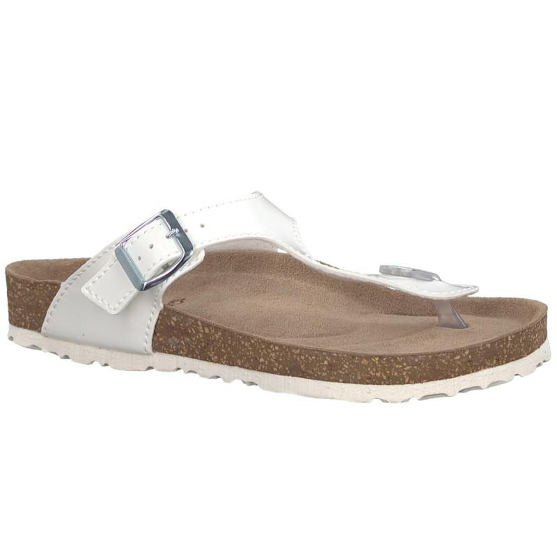 Marco Tozzi női lábujjközös papucs 27400-20-123 white 04539