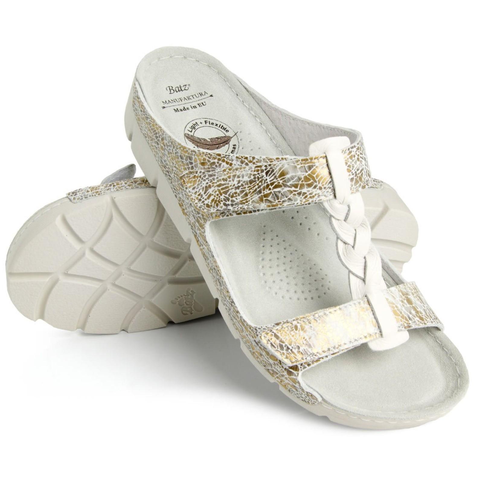 Batz Bori arany mix női papucs - Női papucs e605b008be